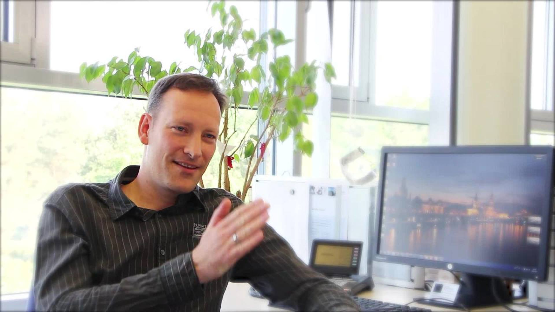 Our colleague Marcus tells you more about his job as a Process Engineer in Dresden