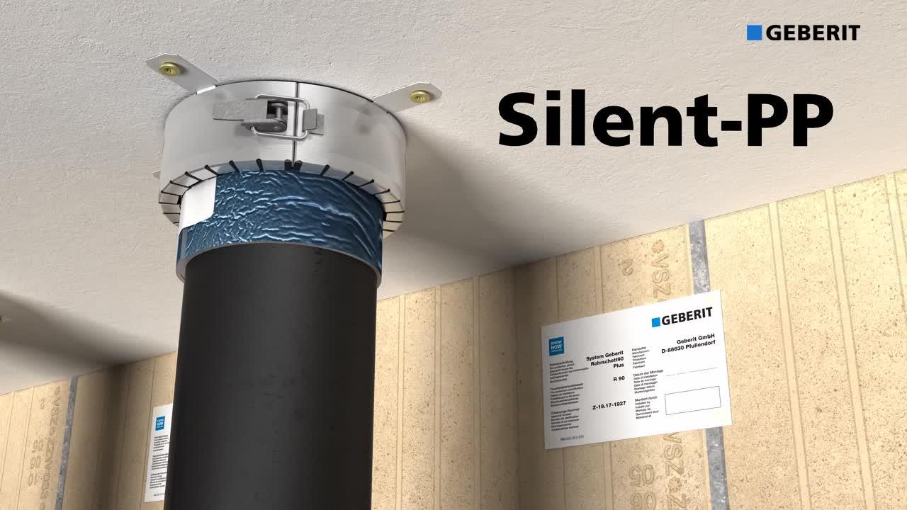 Sertificēti ugunsdroša, saspraužama kanalizācijas sistēma