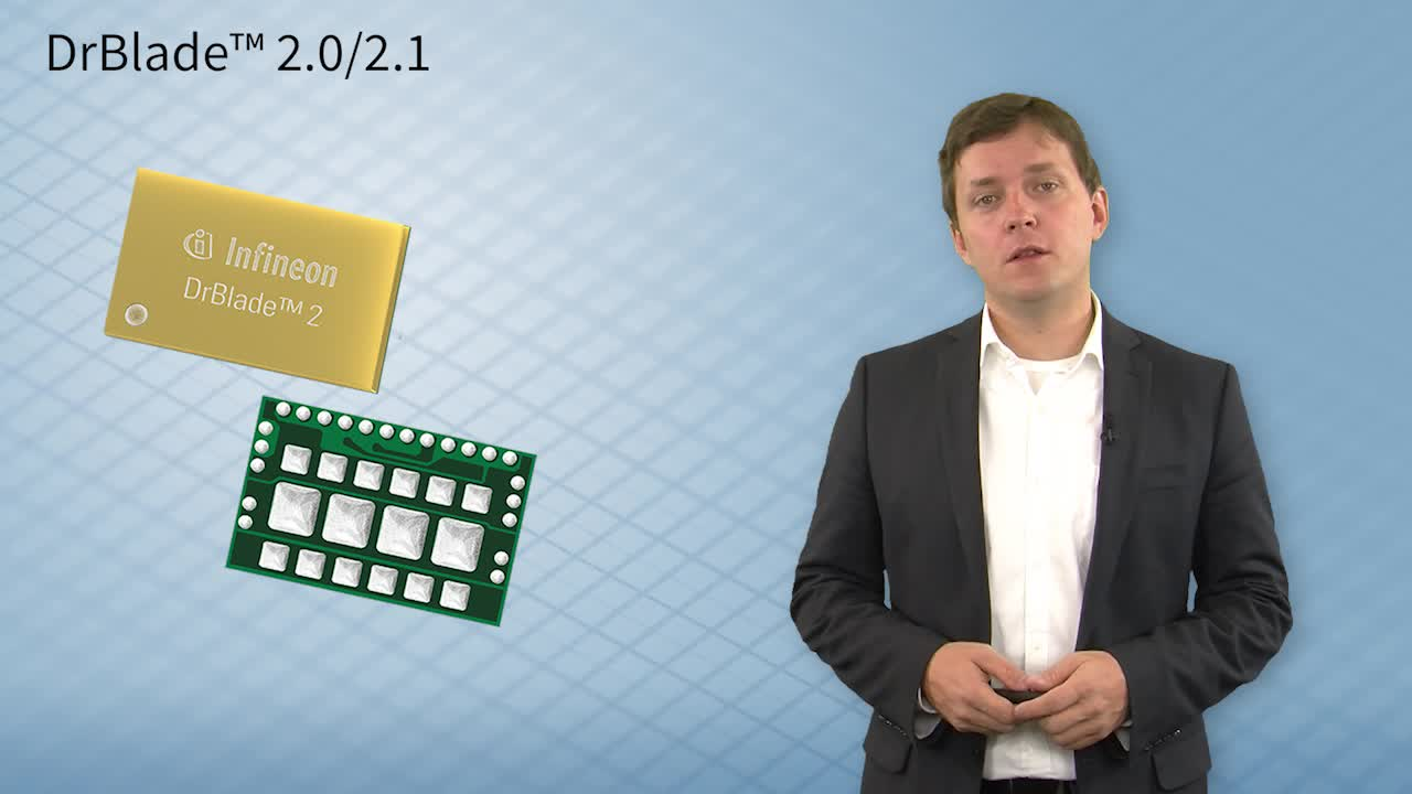 DrBlade™ 2.0/2.1 - An introduction to the key features of Infineon's latest integrated power stage Part1