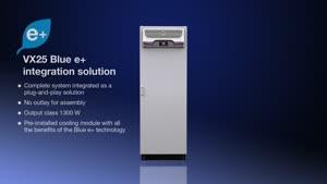 Armoire climatisée intégrée VX25 Bluee+