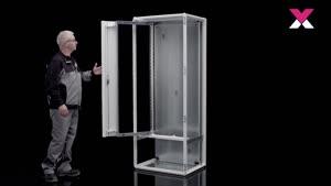Cadre pivotant grand format pour armoires VX de largeurs 600, 800 et 1200mm