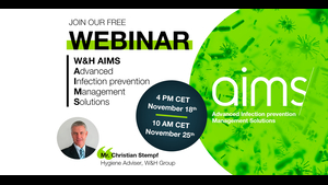 WEBINAR Invitation video by Christian Stempf: AIMS - Advanced Infection prevention Management Solutions