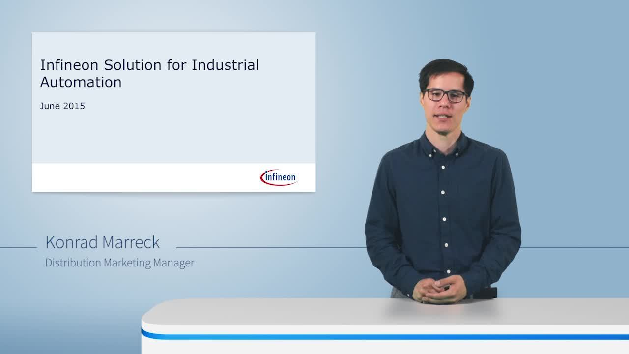 Watch our expert explaining how Infineon can help you meet the challenges in the automation area. And prepare your smart factories for the rising security demands with Infineon.