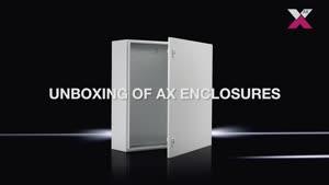 Компактный распределительный шкаф AX Базовый шкаф AX, листовая сталь