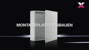 Kompakt-Schaltschrank AX Basisschrank AX, Stahlblech