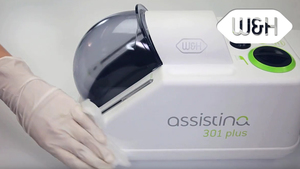 Assistina 301 plus - cleaning