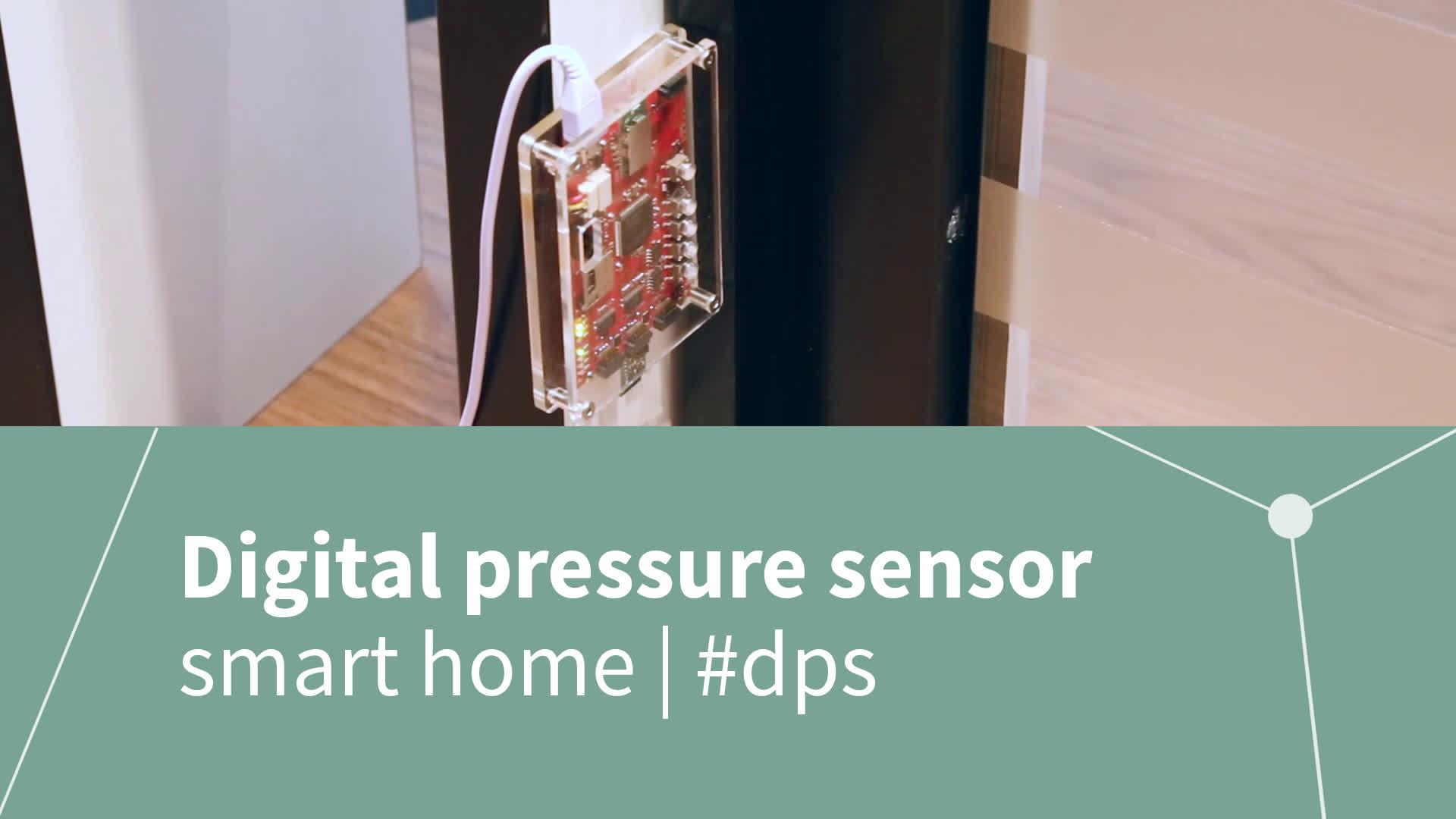 electronica 2016 - digital pressure sensor (DPS) @ ARROW booth