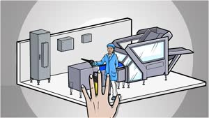 Hygienic Design Компактный распределительный шкаф HD, однодверный