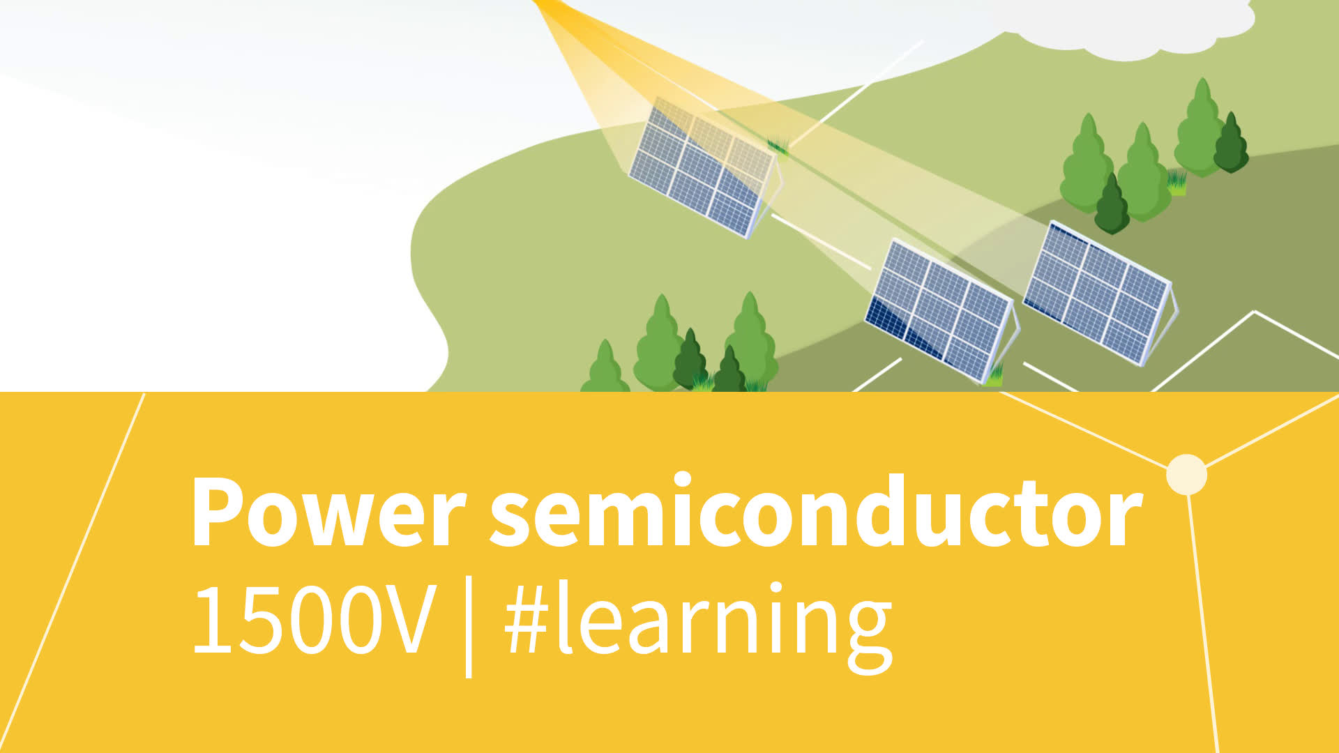 Power semiconductor solutions for 1500 V solar string inverters