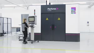 Centre d'usinage laser Perforex LC 3030