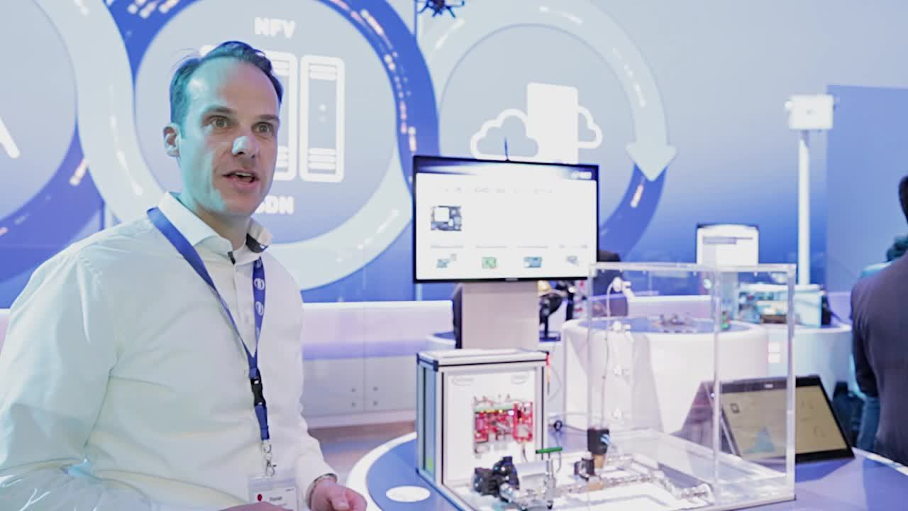 Narrow band LTE - water pump solution from Intel and Infineon