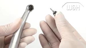 Cómo sustituir el rotor de las piezas de mano de la turbina dental Alegra
