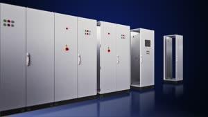 Systém řadových skříní VX25 Základní skříň s prosklenými dveřmi