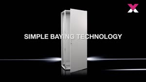 Baying enclosure system VX25, stainless steel IP 66/NEMA 4X