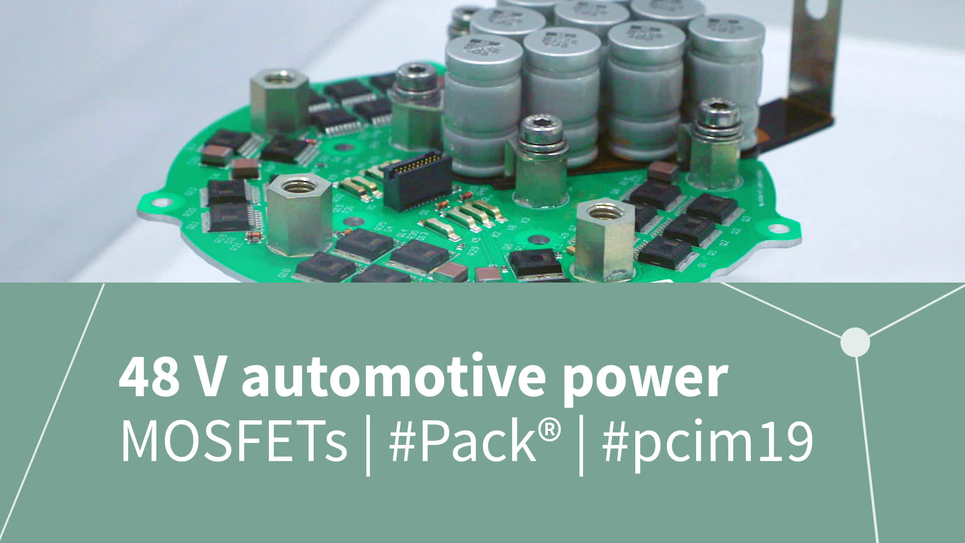 48 V automotive power MOSFETs solutions