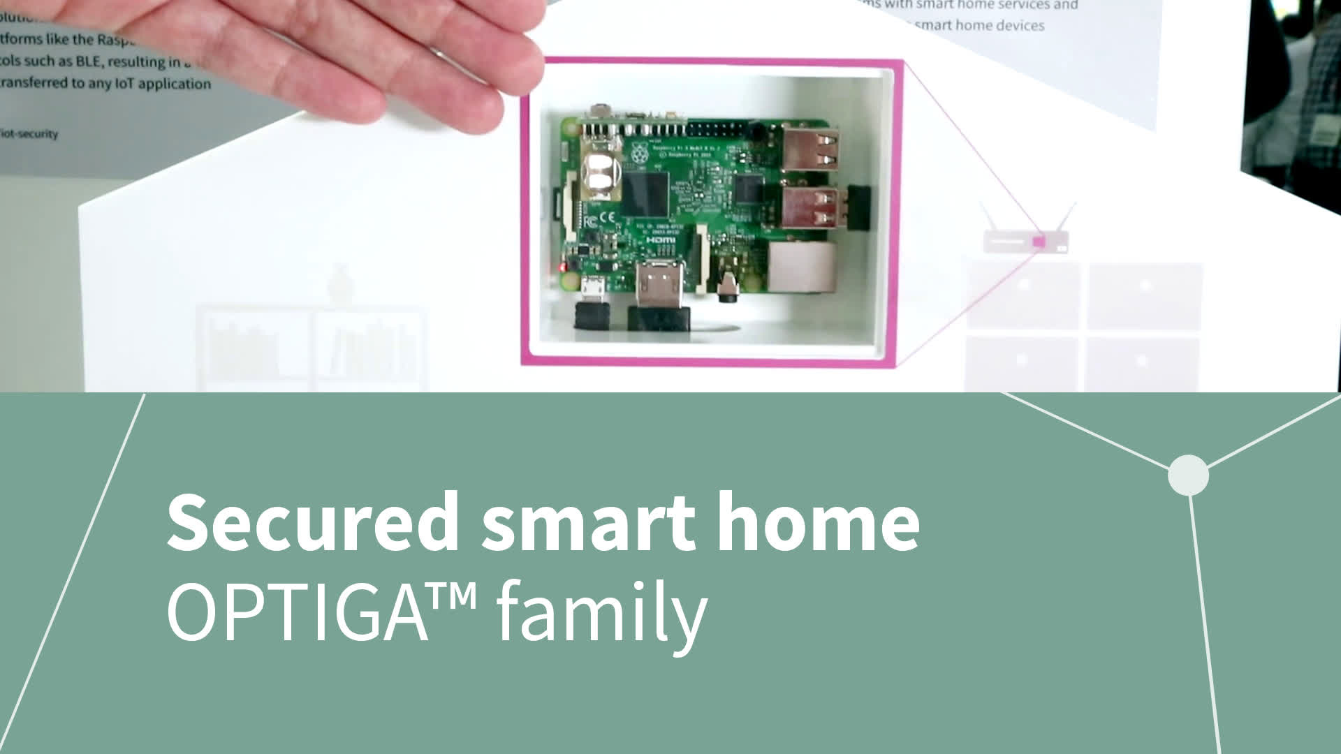 electronica 2016 - Secured smart home architecture