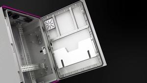 塑料控制机柜 AX 带检视窗用透明片