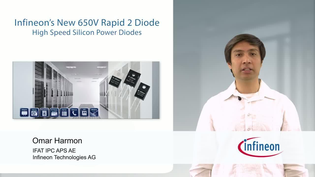 Infineon's New 650V Rapid 2 Diode