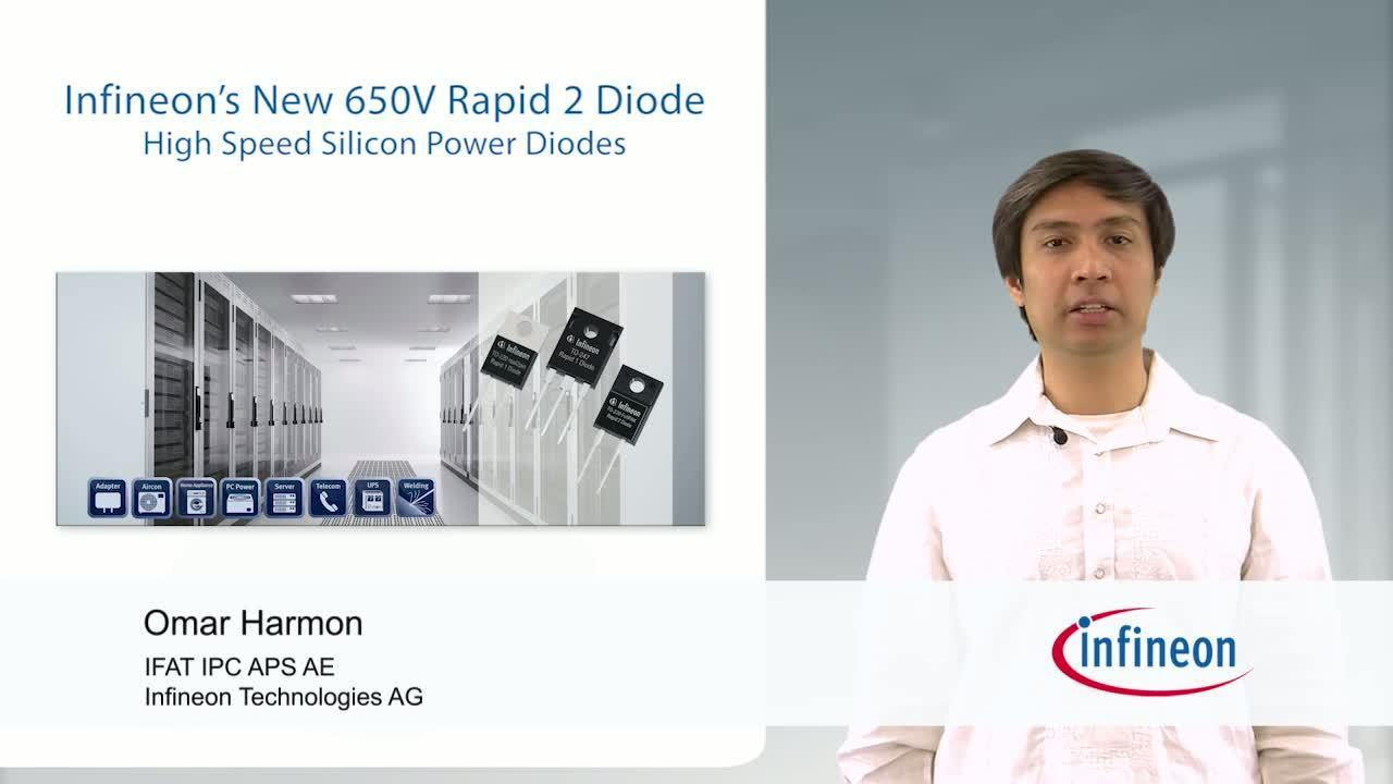 Infineon's New 650V Rapid 2 Diode