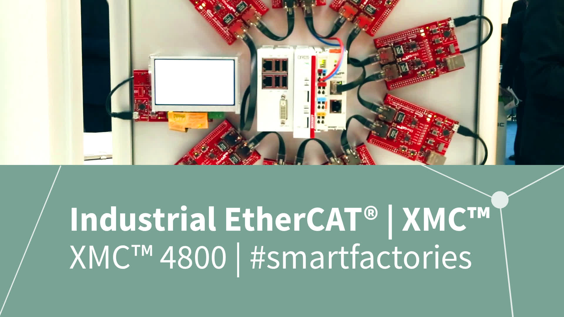 electronica 2016 - Industrial EtherCAT™ network with XMC™