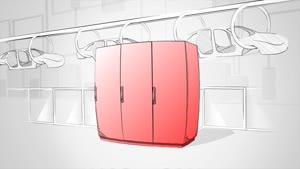 Refrigerador mural Bluee+ Potencia de refrigeración total 1,60 kW