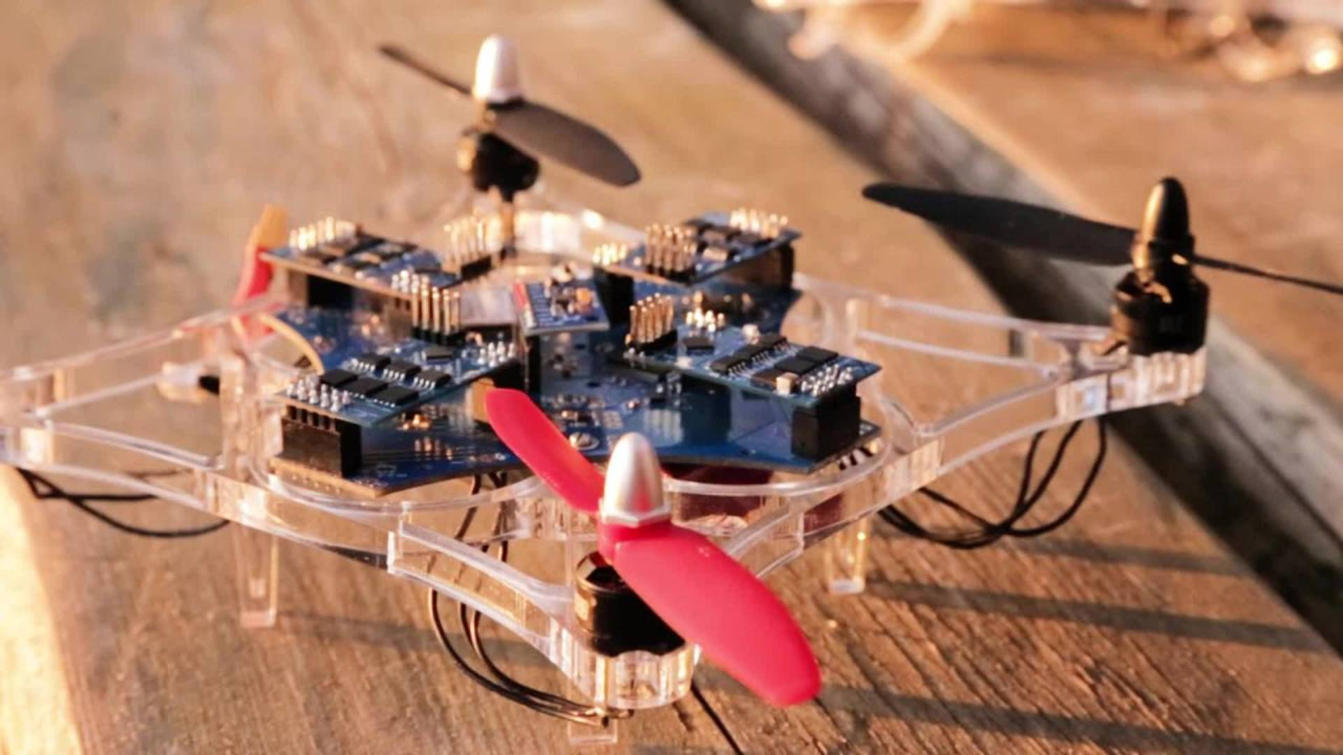 Infineon's Full System Solution Multicopter-Flight Impressions
