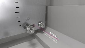 Kunststoff-Schaltschränke AX ohne Sichtscheibe