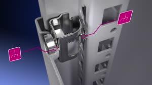 Baying enclosure system VX25 Electronic enclosure