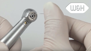 How to clean the spray nozzles and water filter of Alegra dental turbines