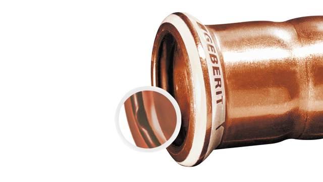 Installation of Geberit Mapress Copper