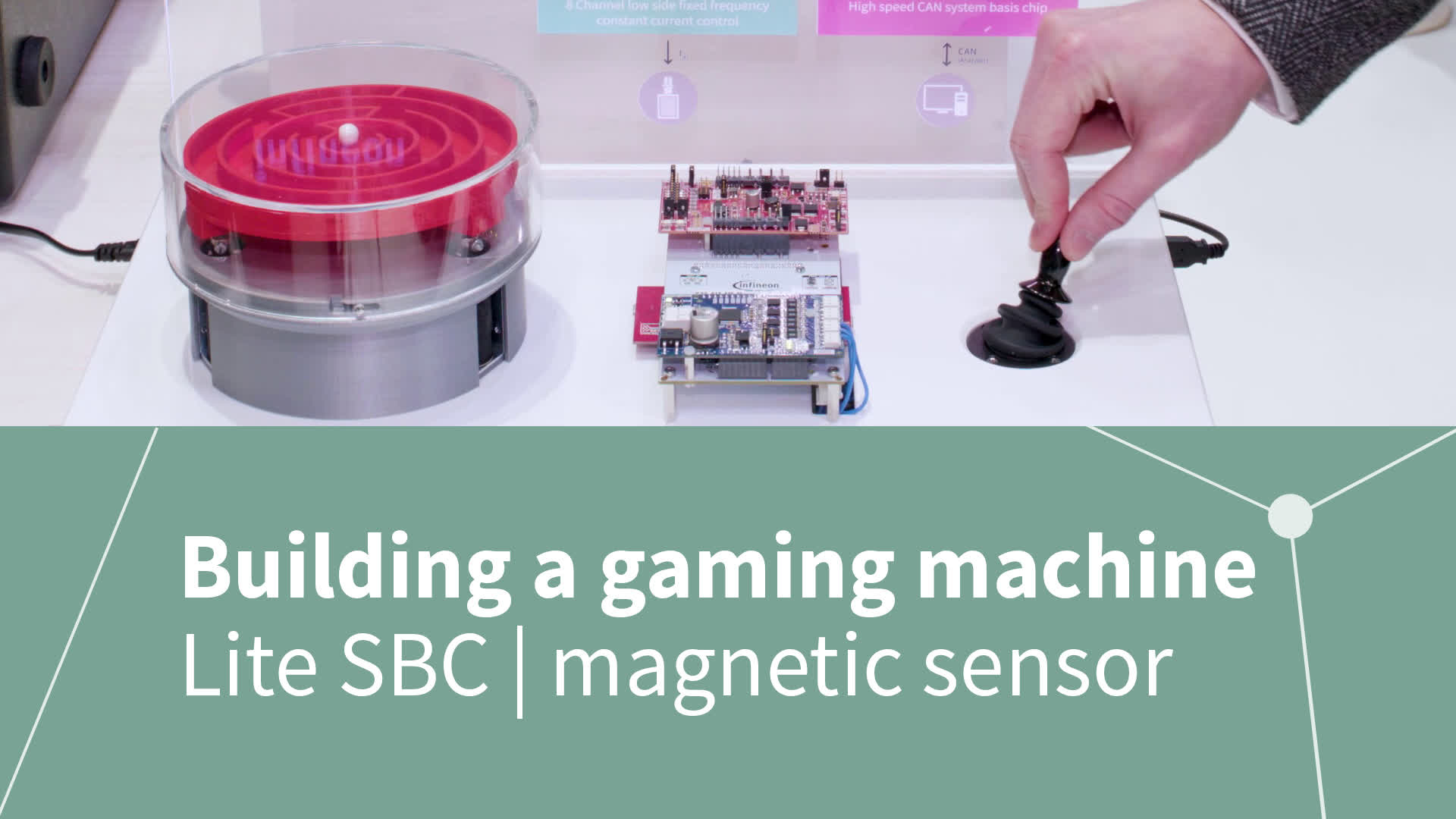 Building a gaming machine with Infineon semiconductors