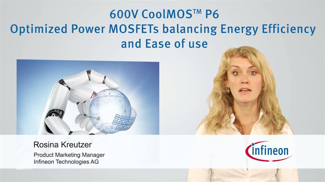 600V CoolMOS™ P6 - Key Information