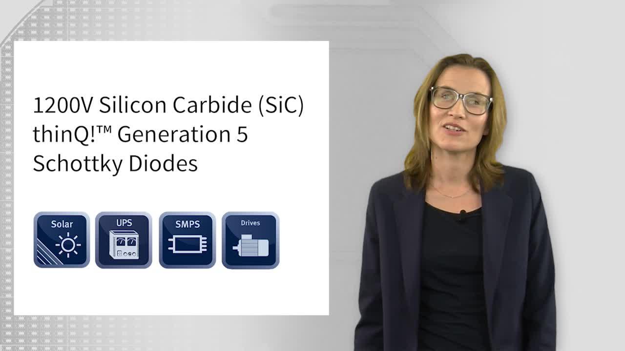1200V SiC thinQ!™ Generation 5 Schottky Diodes