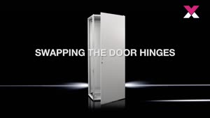 Baying-enclosure system VX25 Base enclosure with glazed door