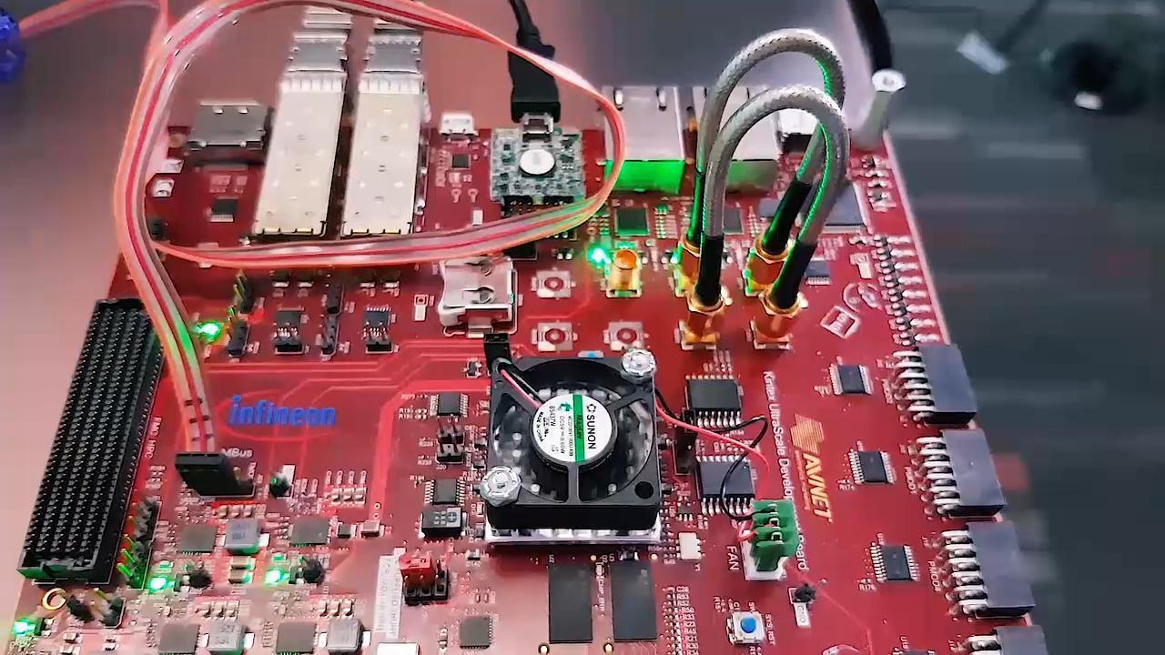 Low Noise POL DC/DC Power for hi-speed SERDES applications