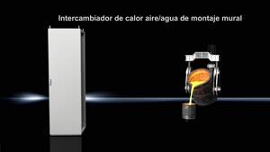Intercambiador de calor aire/agua montaje mural