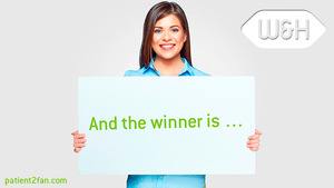 W&H PATIENT2FAN - And the winner is …