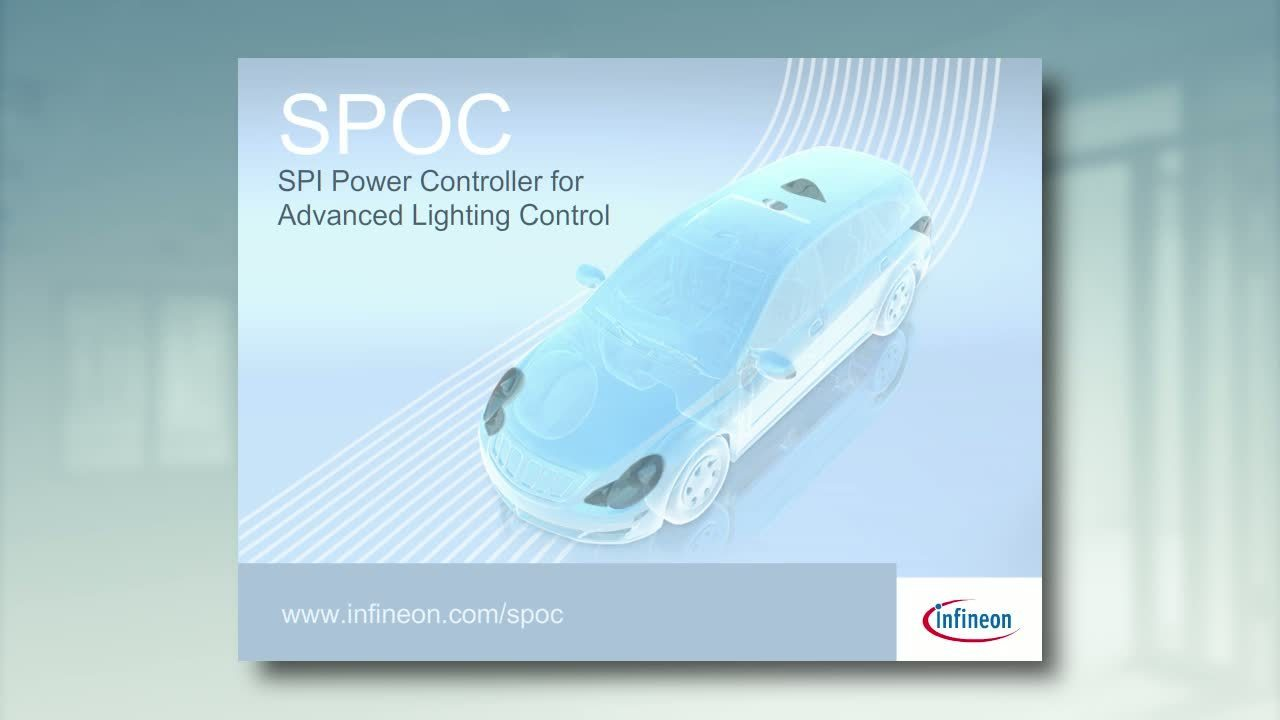 SPOC™ - SPI Power Controller for Advanced Lighting Control