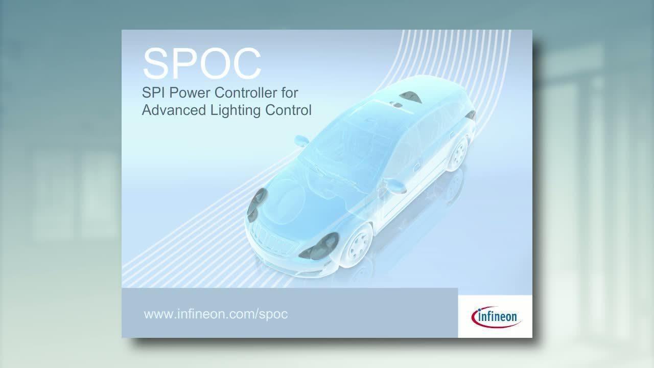 SPOC™ - SPI Power Controller for Advanced Lighting Control