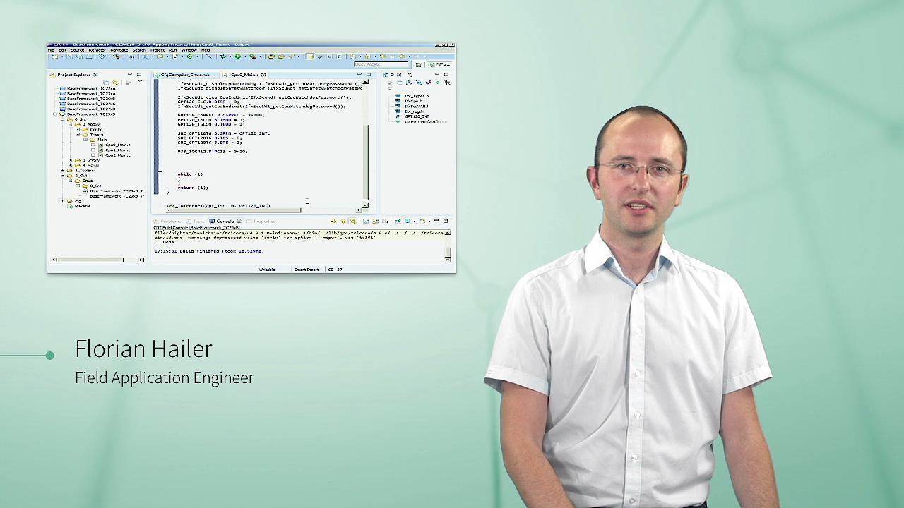 AURIX™ Starter Kit - Tools and programming