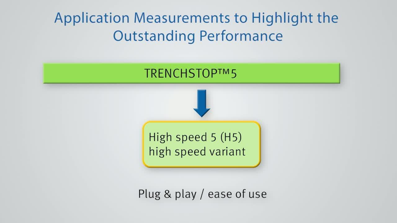 TRENCHSTOP™ 5 - Family Structure, TRENCHSTOP™ 5, H5 and F5