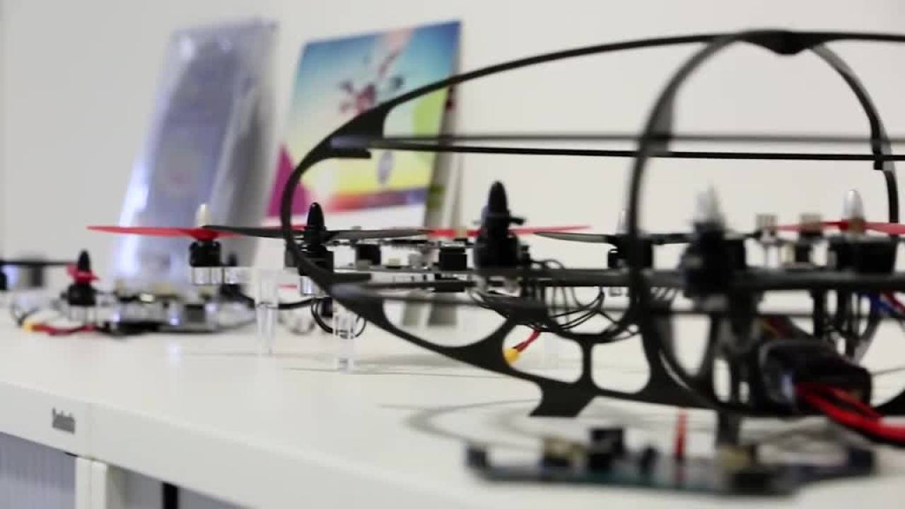 Development of a full system solution: Multicopter - Teaser