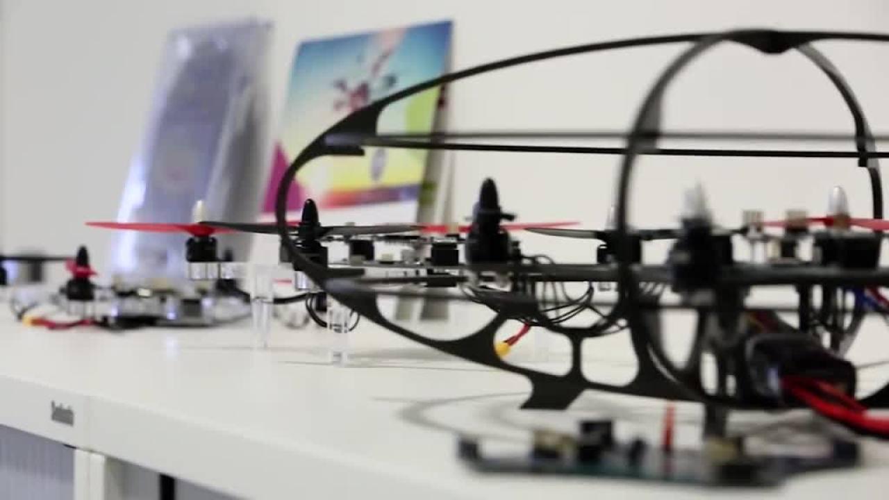 Development of a full system solution: Multicopter - Teaser