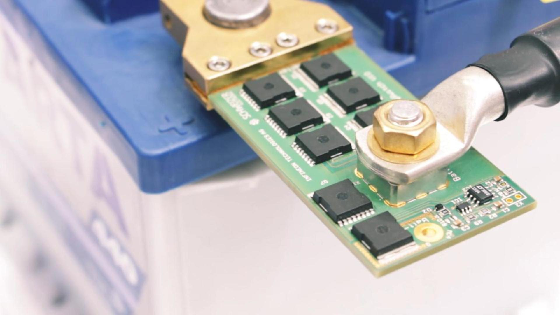 12V Battery Switch at electronica 2014