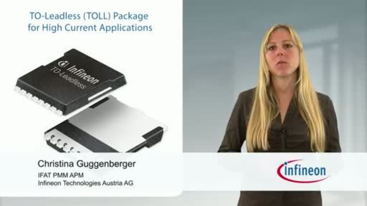 TO-Leadless (TOLL): Package for High Current Applications