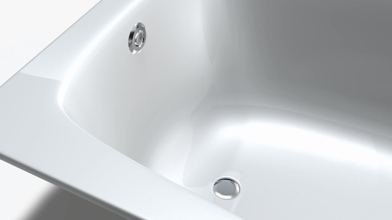Installation film for Geberit bathtub drain with pushbutton actuation PushControl