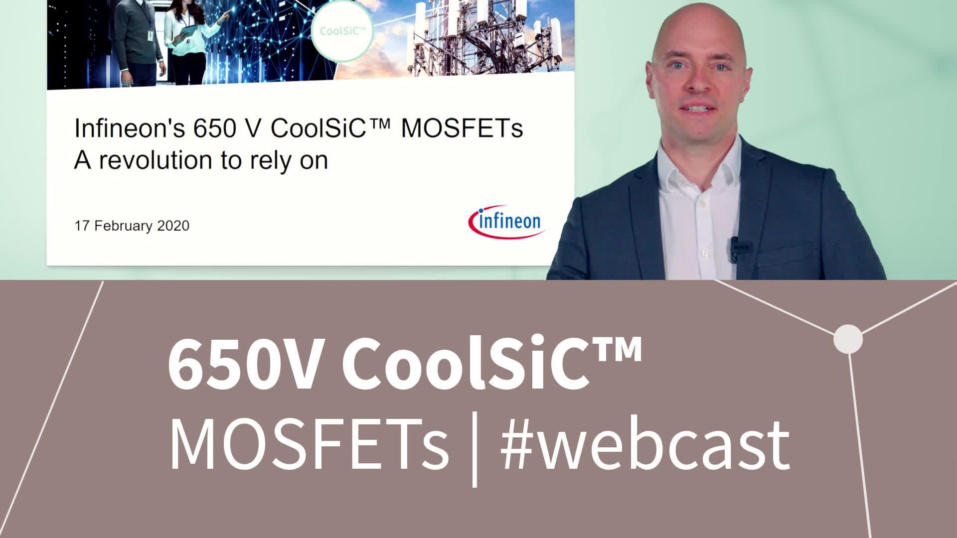 650 V CoolSiC™ MOSFETs