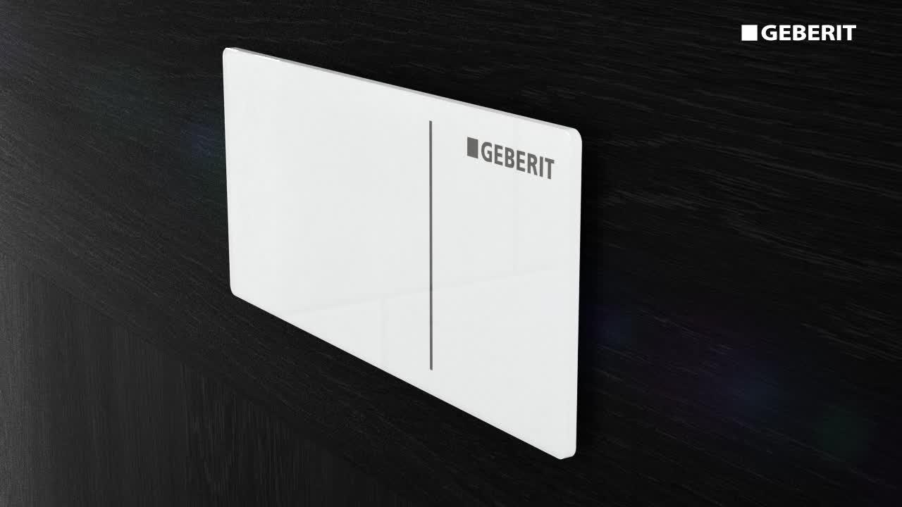 Geberit remote flush actuations