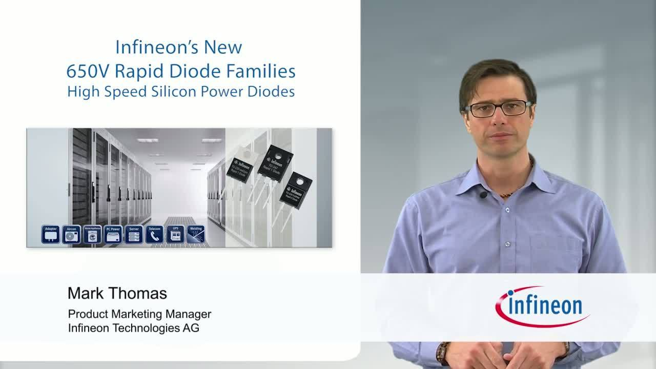 Infineon's 650 V Rapid Diode Families