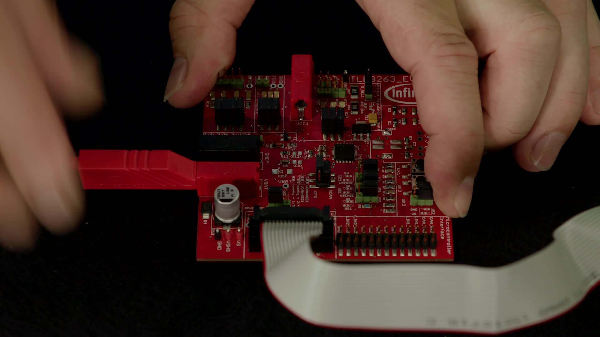 Unboxing of the Infineon System Basis Chip TLE9263-3BQX Evaluation Board